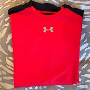 Fitted Under Armour boys Coldgear long sleeve YLG